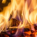 Titulní obrázek článku: Proces hoření dřeva
